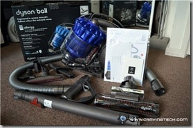 Dyson DC39 packaging