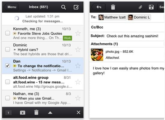 Official Gmail App