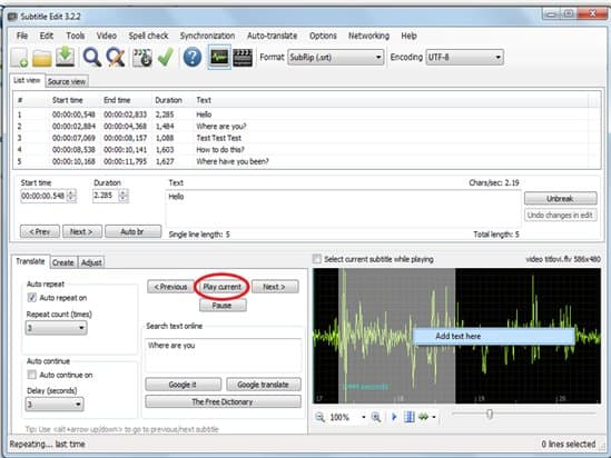 Subtitle Software: Best 3 free software for creating video