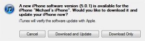 iOS 5.01 update fixes iPhone battery leak issue
