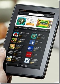Why The Kindle Fire Will Outsell Other Android Tablets
