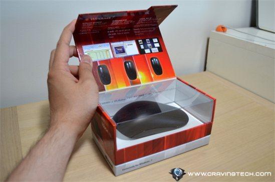 Microsoft Touch Mouse packaging