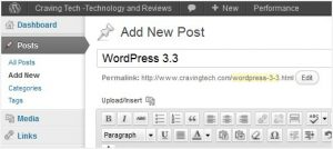 """WordPress 3.3 is out, codenamed """"Sonny"""""""