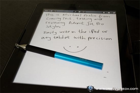 Note: Adonit Jot Stylus Pro review sample was provided for the review