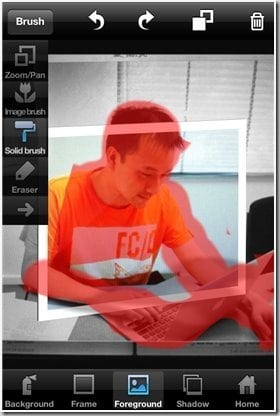 OutColor 2 app foreground