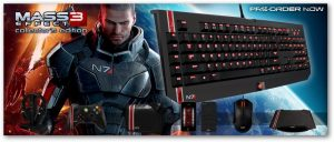 Mass Effect 3 gaming peripherals from Bioware and Razer