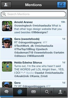 Tweetbot mentions
