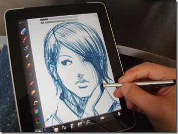 5 drawing ipad apps for artists for Blueprint sketch app