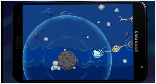 Galaxy Note Angry Birds