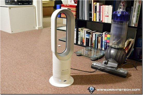 Dyson Hot Review - in action