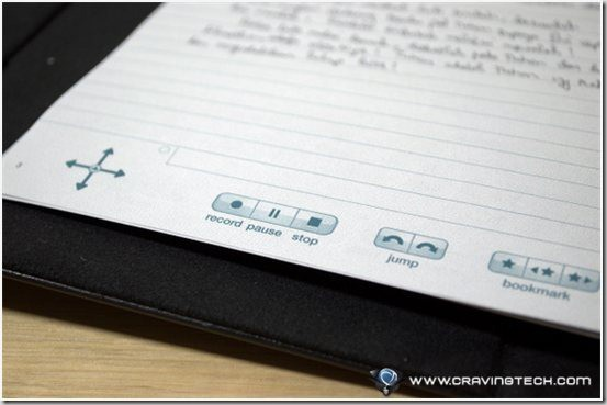Livescribe Echo Smartpen  buttons