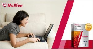 McAfee All Access Household exclusive discount and license giveaway