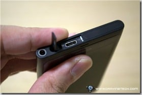 Nokia Lumia 800 usb slot