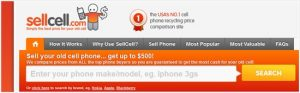 Sell old cell phones easily