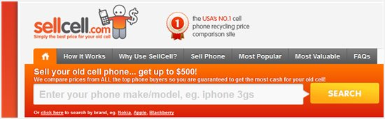 Sell cell phone