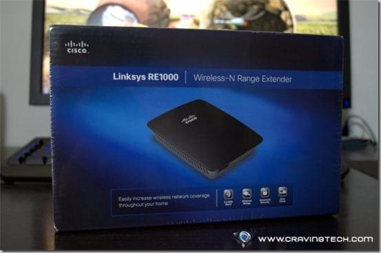 Bad wireless signal? Boost it with Linksys RE1000 Wireless