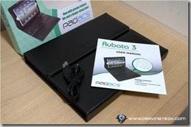 PADACS Rubata 3 Bluetooth keyboard review 1