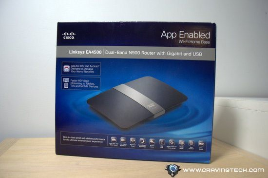 Cisco Linksys EA4500 Review–preparing for the future with
