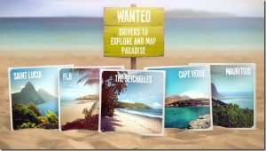 Sponsored video: Help TomTom map an island and get £10,000 plus 2 weeks of holiday expenses