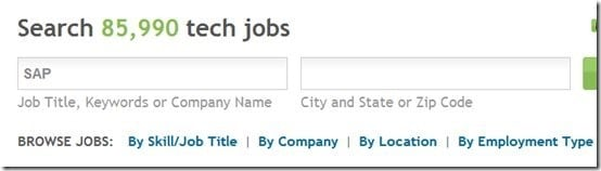 Search by job