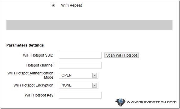 WiFi Repeat scan