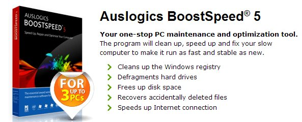 Auslogics BoostSpeed 5 Review