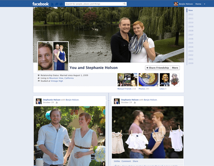 Facebook Us Couple