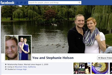 Facebook couple page