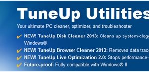TuneUp Utilities 2013 giveaway