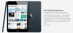 iPad mini is not a smaller version of the iPad 3 (but is a great tablet nonetheless)