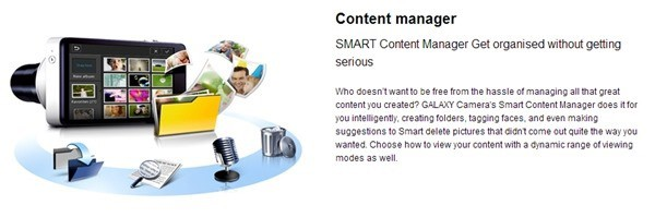 Samsung GALAXY Camera Content Manager