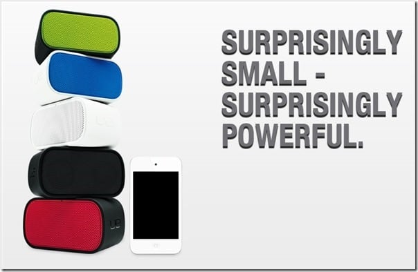Logitech Boombox colors