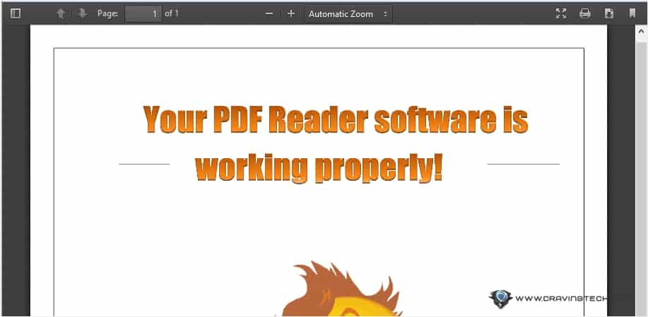 Firefox 19 PDF viewer