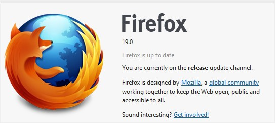Firefox 19 released, comes with a built-in PDF viewer