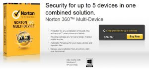 Norton 360 Multi-Device Licenses Giveaway