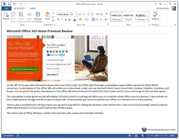 microsoft office 365 home premium review. Black Bedroom Furniture Sets. Home Design Ideas
