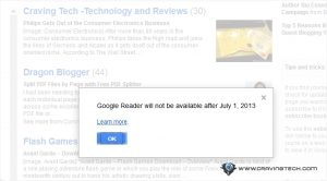 Google Reader is Dead. Looking for Google Reader Alternatives?