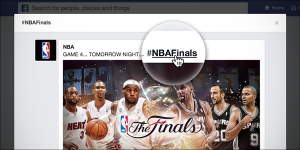 Facebook introduced Twitter-styled hashtags for topics