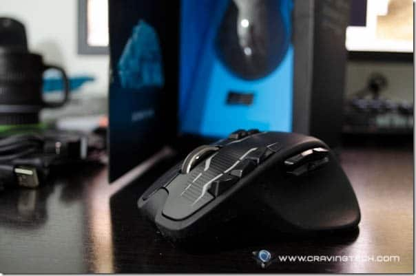Logitech G700s Wireless Gaming Mouse review