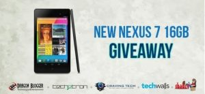 Enter Now for your Chance to Win a Google Nexus 7