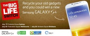 Win a Samsung GALAXY S4 from Samsung and Vodafone Australia