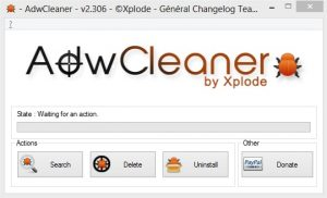Remove malware and unwanted toolbars with AdwCleaner