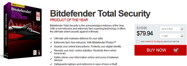 Bitdefender total security 2014 giveaway