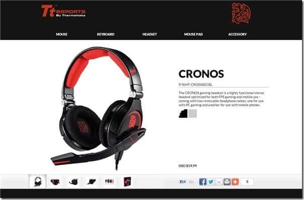 Tt eSPORTS CRONOS review
