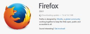 Firefox goes to version 24, cathing up to Chrome's 29