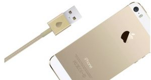 gold usb cable gold iPhone 5s