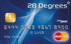 28 degrees credit card