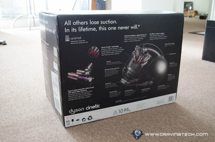 Dyson DC54 Review  Packaging