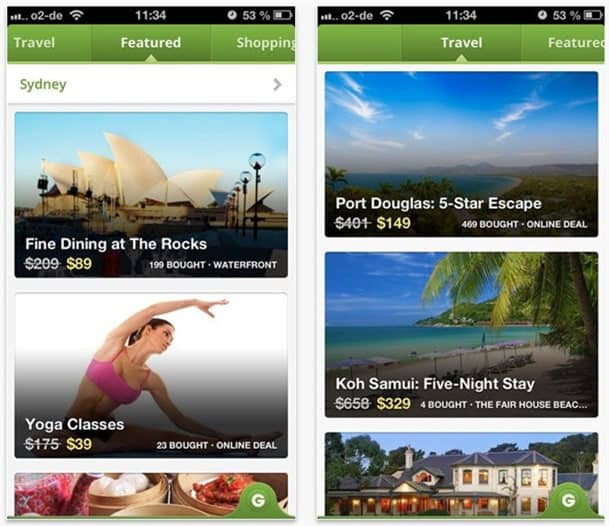 Groupon app gets an update ahead of Christmas