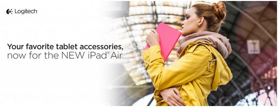Logitech iPad Air accessories